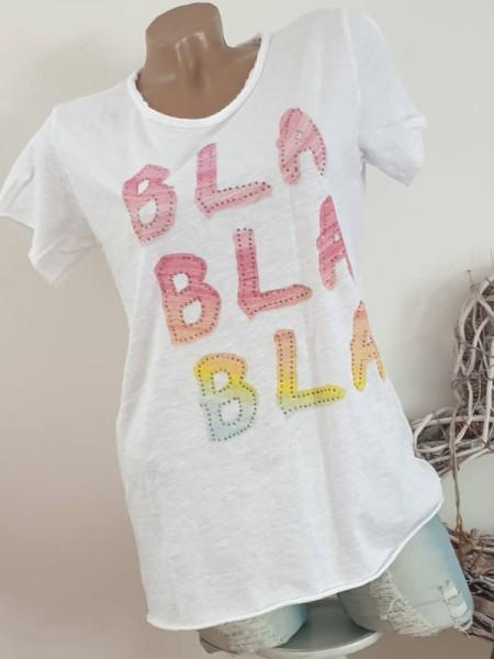 T-Shirt Shirt 38 40 42 Blogger Tunika Nieten unfinished