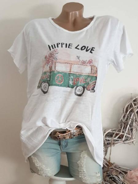 T-Shirt Shirt 38 40 42 Tunika Hippie Bus Nieten unfinished